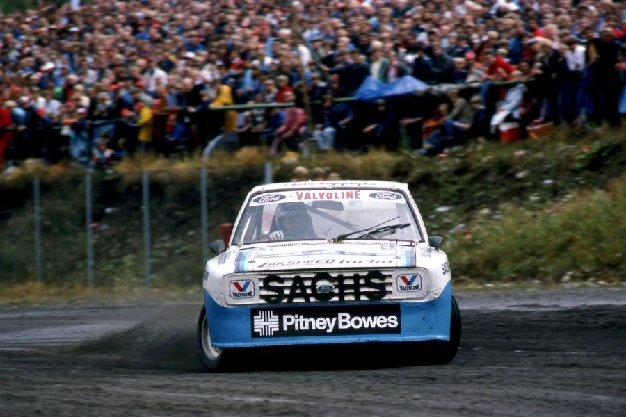 Martin Schanche 1983 Ford Escort RS 1800 Turbo