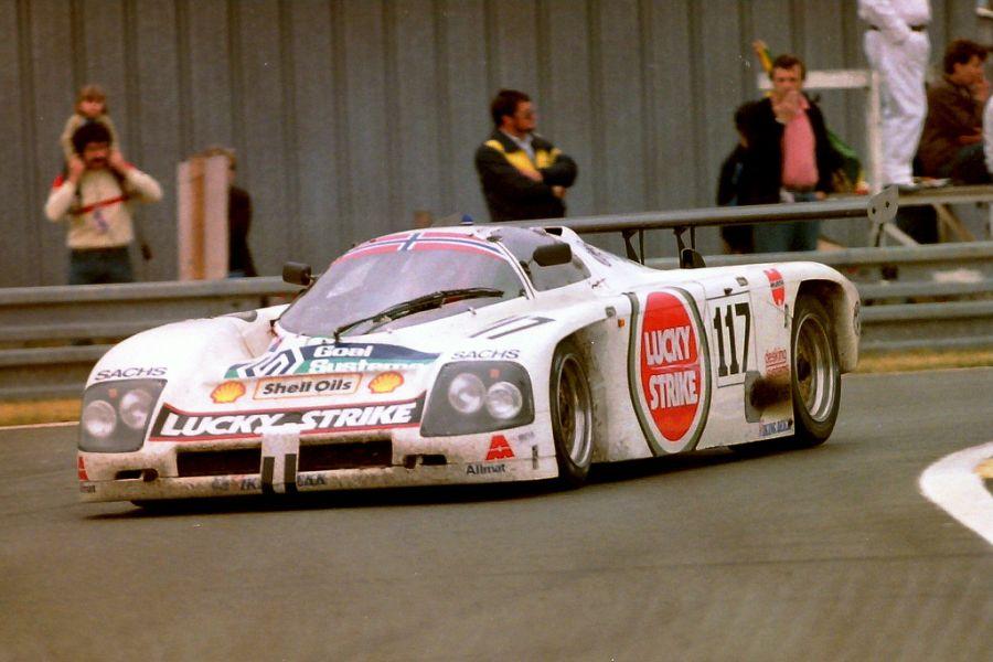 Martin Schanche, 1988 Le Mans, Argo JM19C
