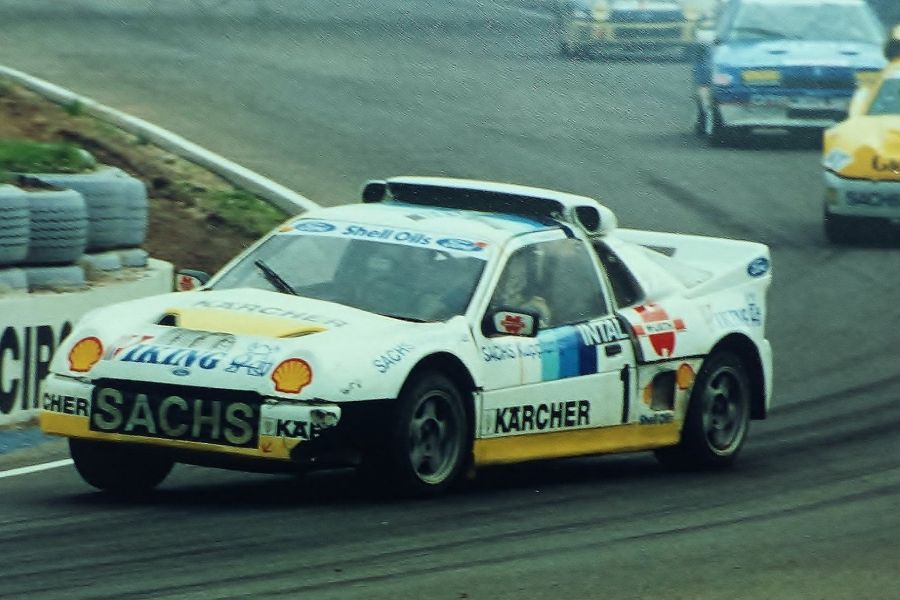 Martin Schanche spent six seasons with Ford RS200