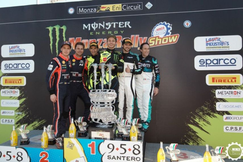 2017 Monza Rally Show podium