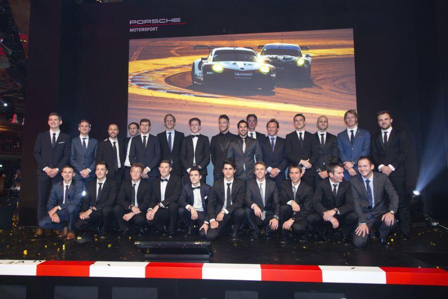 Porsche GT Team, 2018 drivers