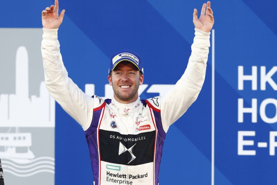 Sam Bird wins race 1 of Hong Kong ePrix