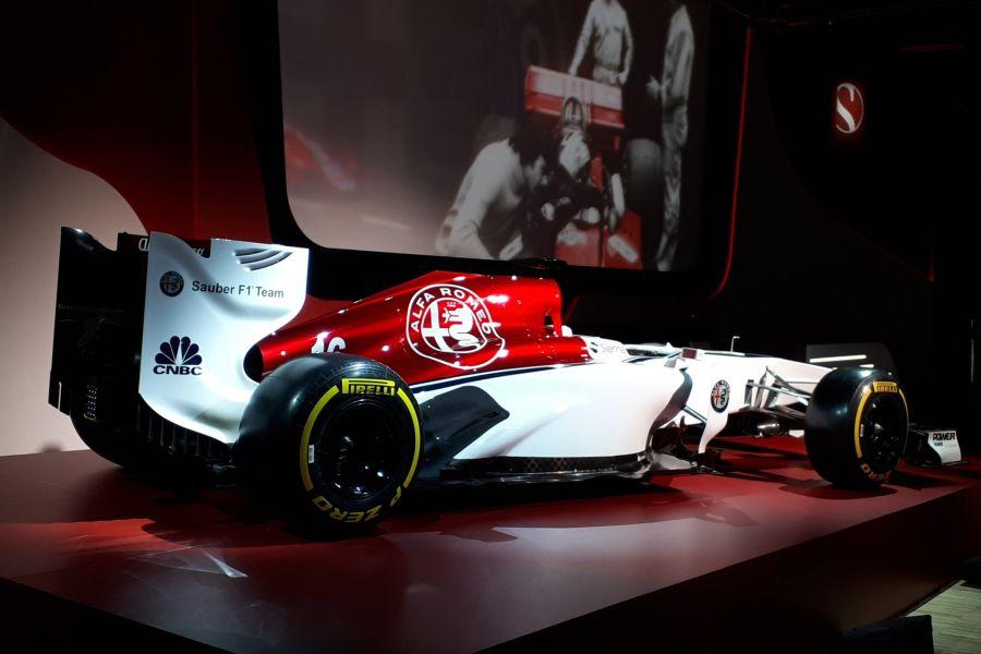 Alfa Romeo Sauber F1 Team presentation