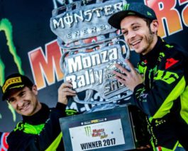 Valentino Rossi beats Hyundai stars for a victory at Monza Rally Show
