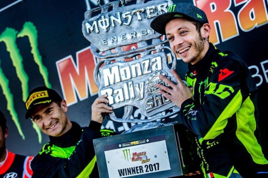 Valentino Rossi wins 2017 Monza Rally Show