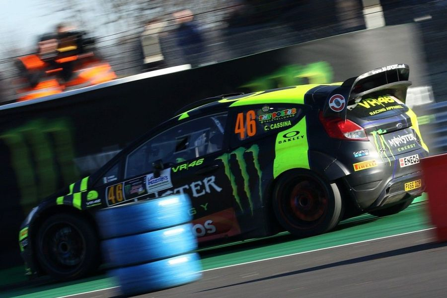 Valentino Rossi triumphed for the sixth time at Monza Rally Show