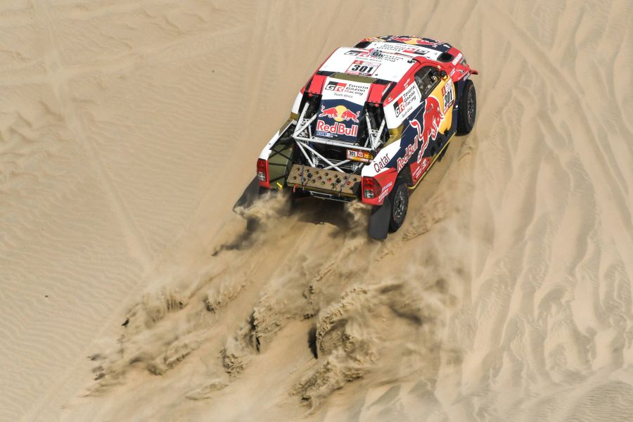 2018 dakar rally al attiyah was the fastest on the short opening stage. Black Bedroom Furniture Sets. Home Design Ideas