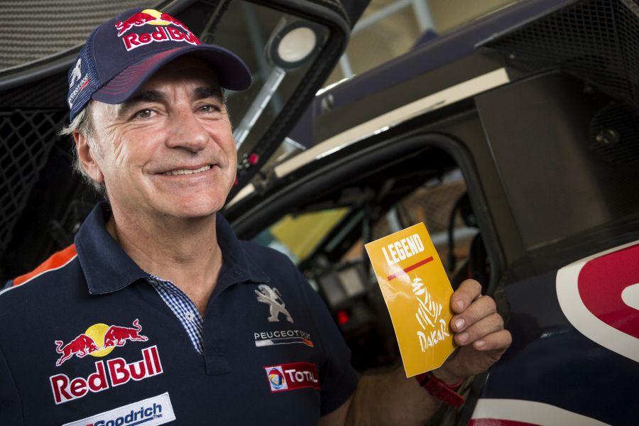 Carlos Sainz Dakar Rally legend