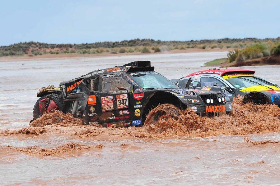 Tim Coronel, Tom Coronel, 2018 Dakar Rally