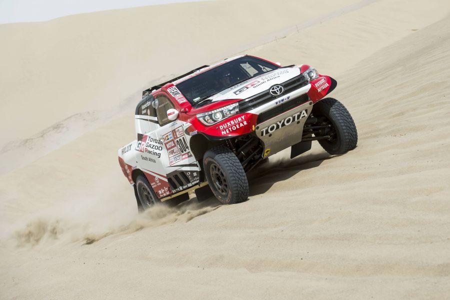 Giniel de Villiers, Toyota Hilux, 2018 Dakar Rally
