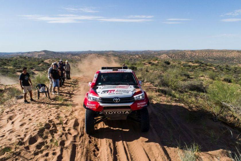 Giniel de Villiers, 2018 Dakar Rally