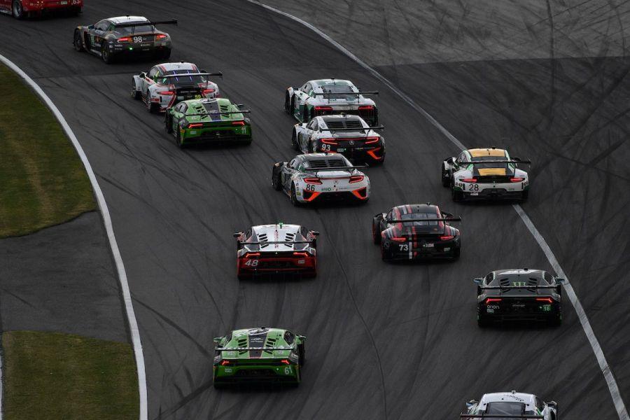 Daytona 24 Hours, GT grid