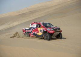 Nasser Al-Attiyah 2018 Dakar Rally stage 3