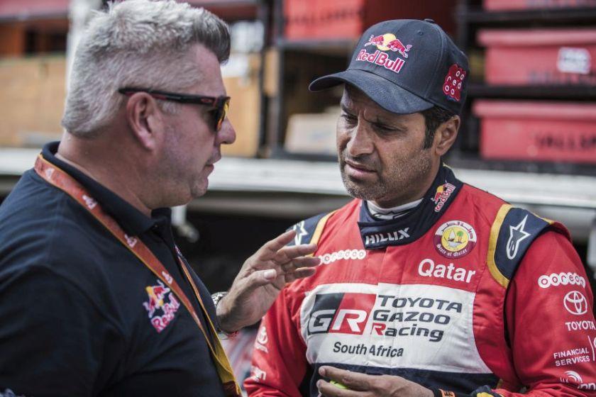 Nasser Al-Attiyah 2018 Dakar stage 3