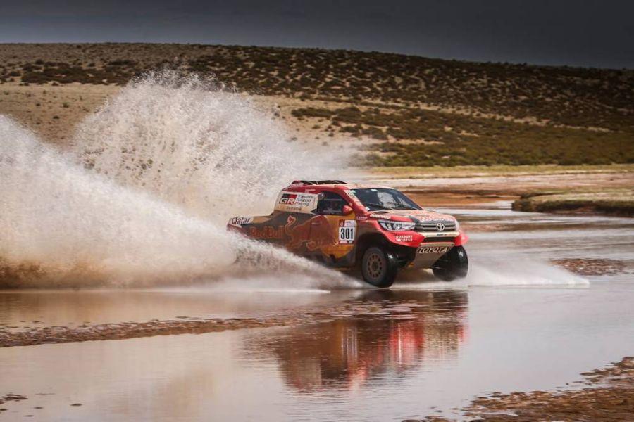 Nasser Al-Attiyah 2018 Dakar Rally