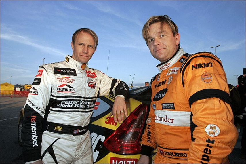 Petter and Henning Solberg