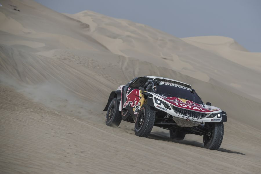 Seb Loeb 2018 Dakar Rally stage 3