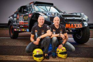 Tim Coronel and Tom Coronel, 2018 Dakar Rally