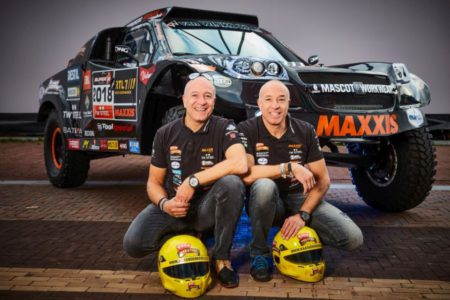 Tim Coronel and Tom Coronel, 2018 Dakar Rally