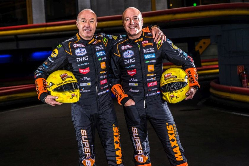 Tom and Tim Coronel