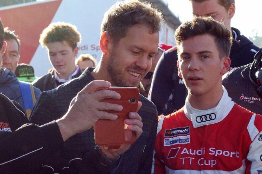 Sebastian and Fabian Vettel