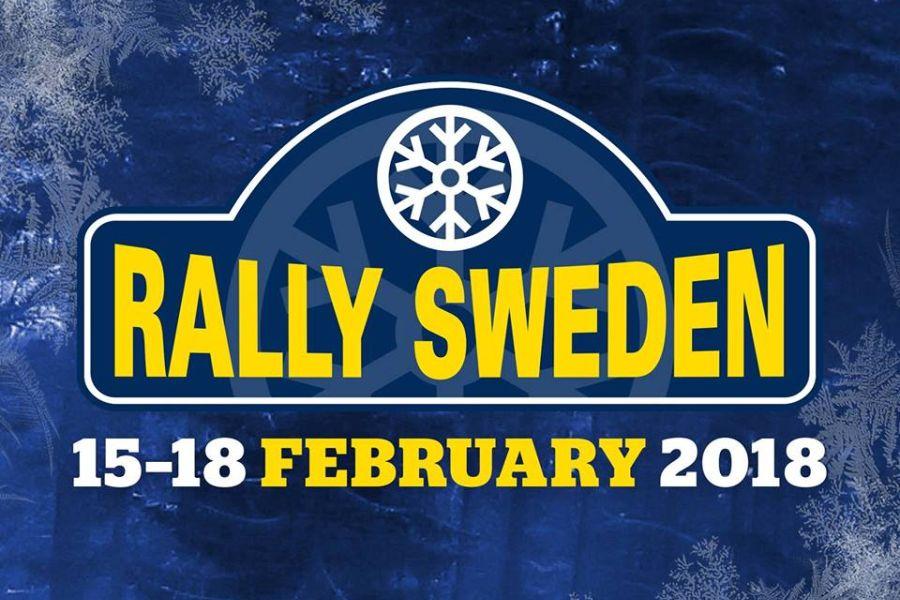2018 Rally Sweden logo