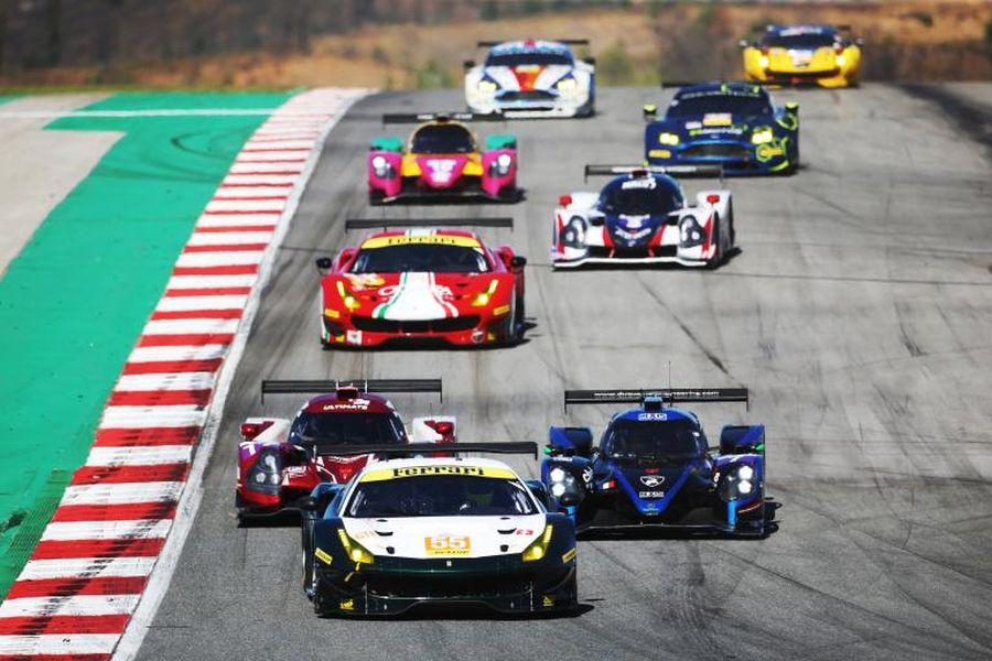 European Le Mans Series cars
