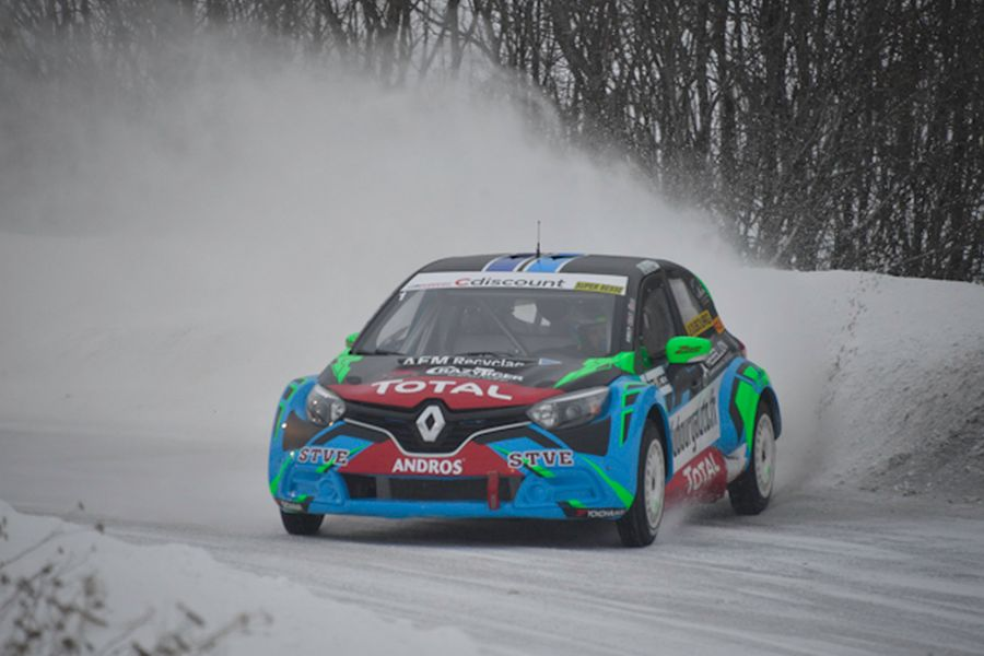 2017/2018 Trophee Andros champion Jean-Baptiste Dubourg
