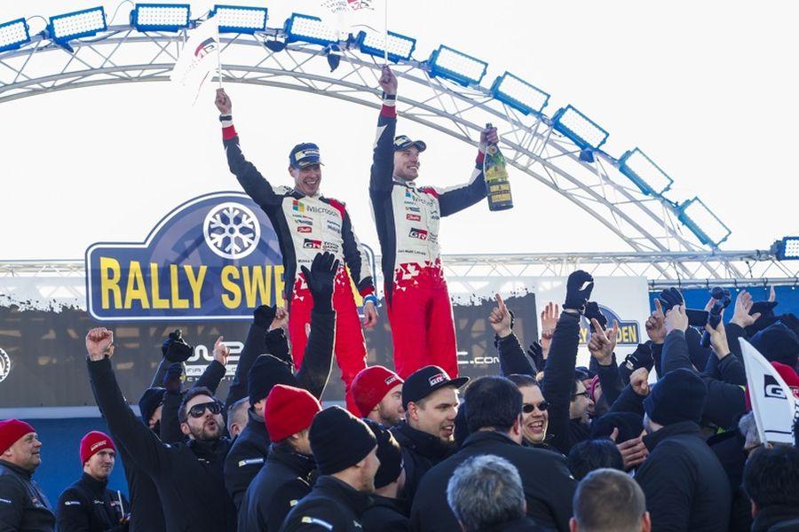 Jari-Matti Latvala and Miikka Attila are the four-time winners of Rally Sweden
