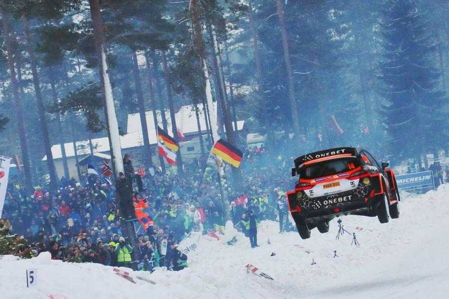 2017 Rally Sweden, Colin's Crest, Mads Ostberg