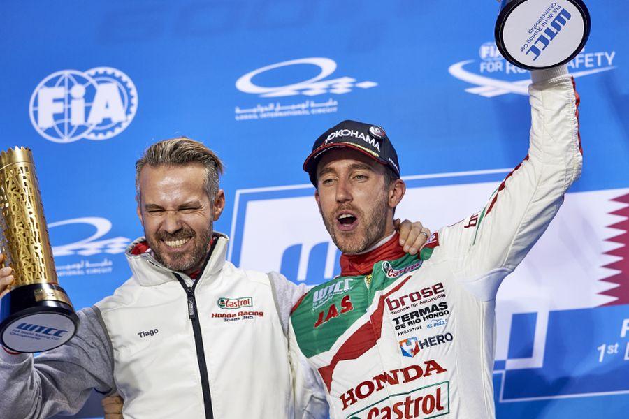 Tiago Monteiro and Esteban Guerrieri