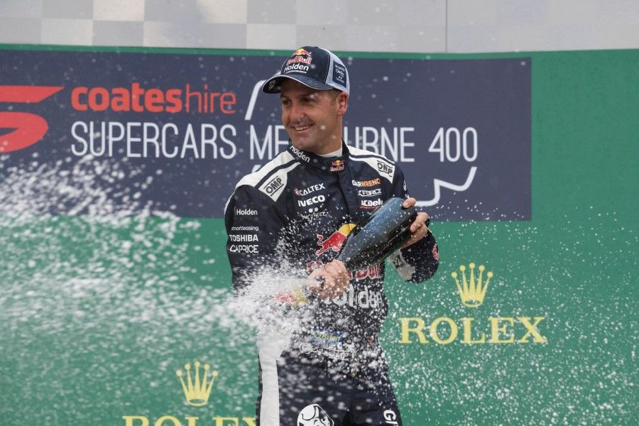 Jamie Whincup, Melbourne 400