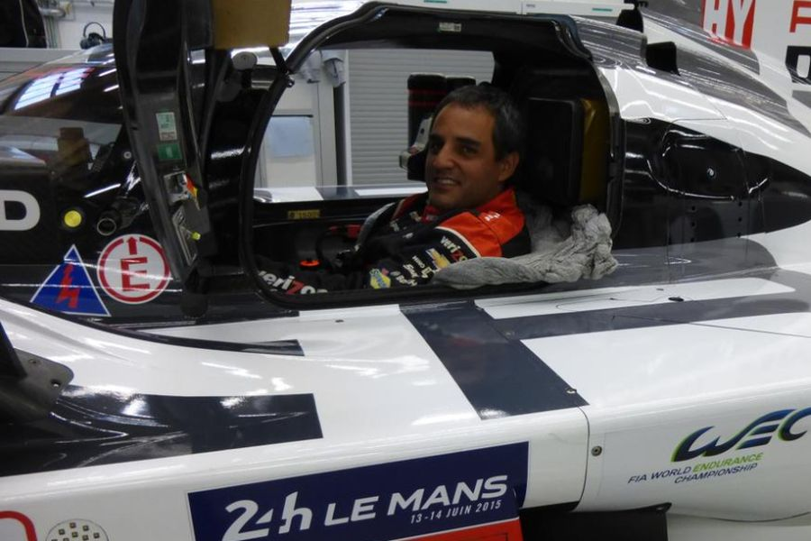 Juan Pablo Montoya, 24 hours of Le Mans test
