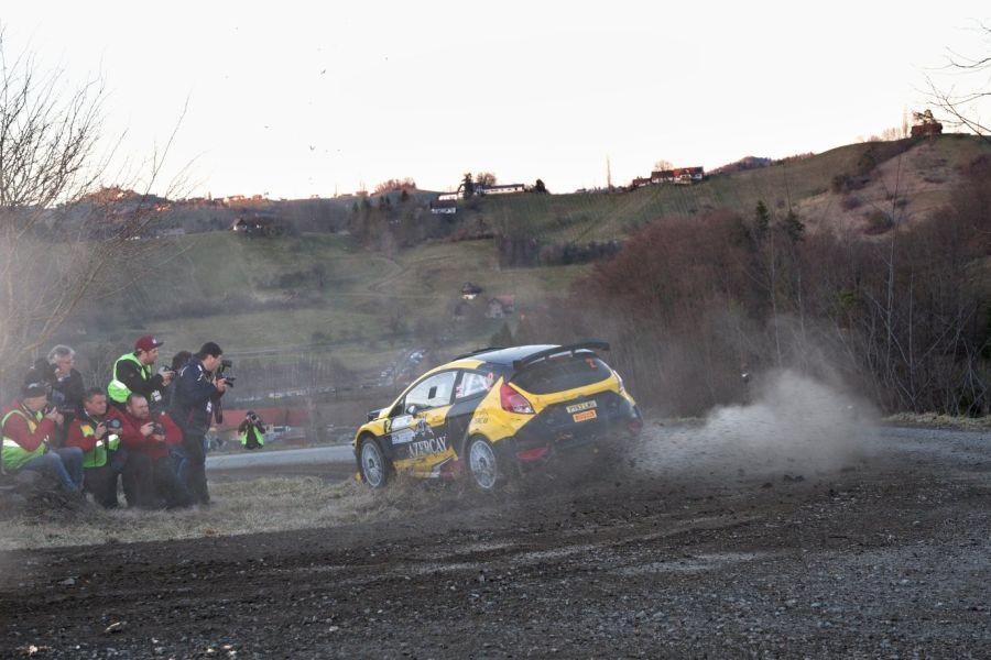 Niki Mayr-Melnhof dominated at Rebenland Rallye