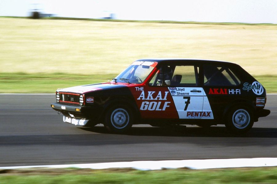 Richard Lloyd's Volkswagen Golf GTi in 1979