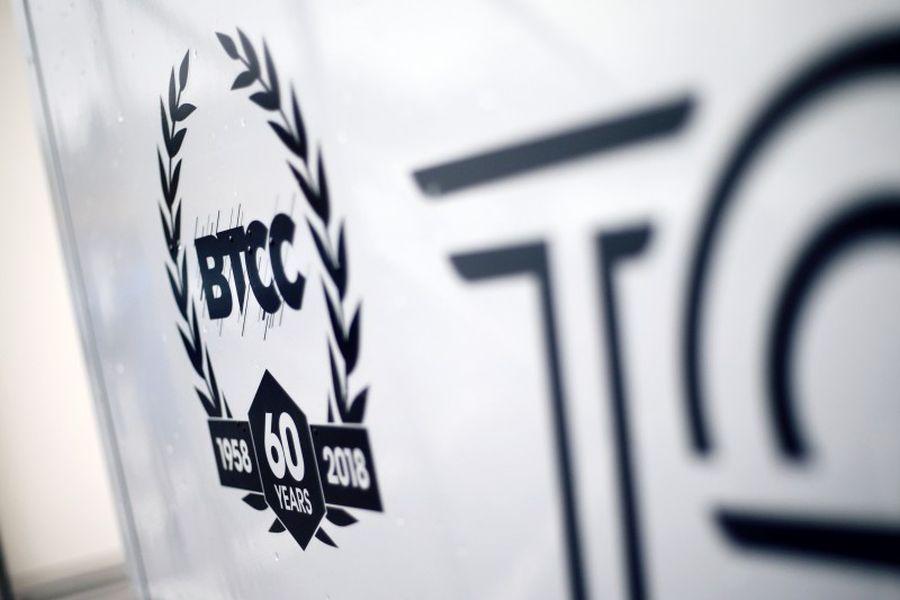 BTCC 60th anniversary logo