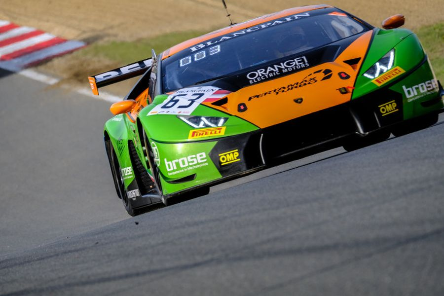 #63 Lamborghini HuracanGT3, Mirko Bortolotti, Christian Engelhart
