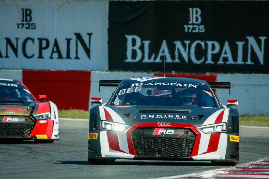 Blancpain GT Series Sprint Cup, Zolder, #66 Attempto Racing Audi