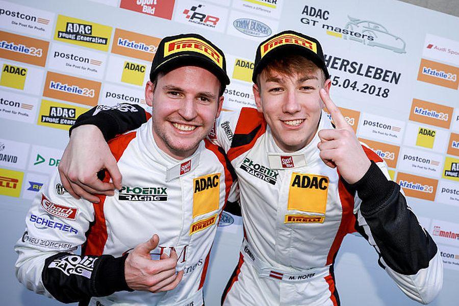 ADAC GT Masters, Oschersleben race 1, Philip Ellis and Max Hofer