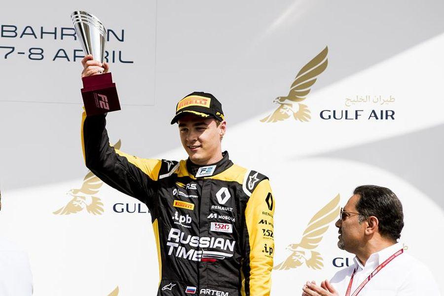 Artem Markelov, Formula 2, Bahrain