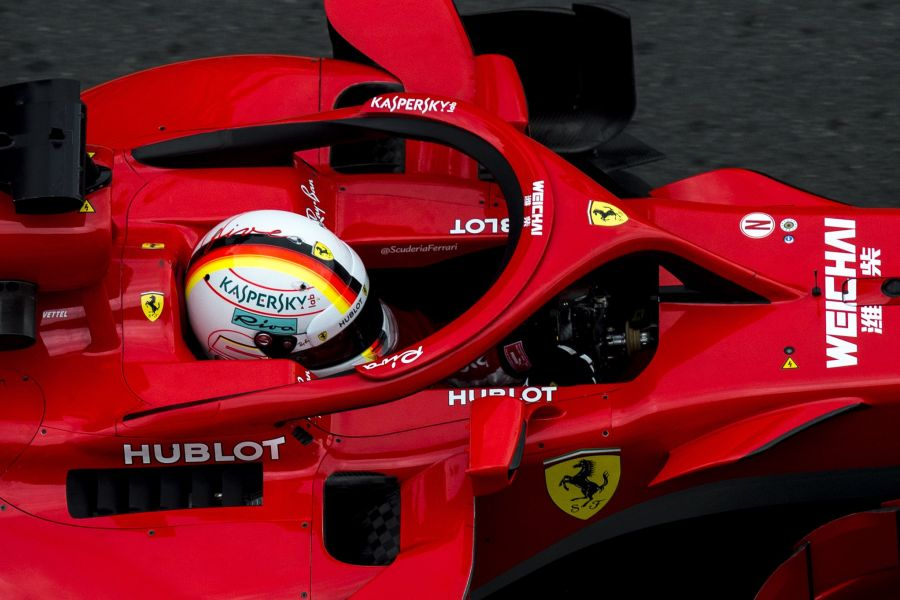 Azerbaijan Grand Prix Sebastian Vettel