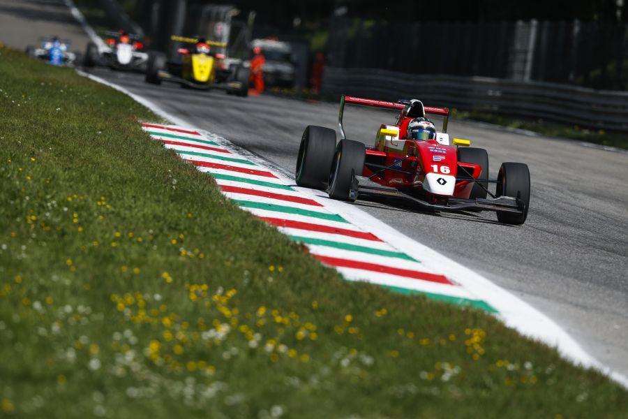 Formula Renault 2.0 Eurocup, Monza,Yifei Ye