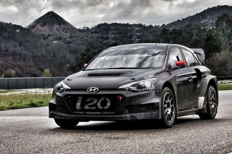 Another new car at World RX grid would be Hyundai i20 Supercar
