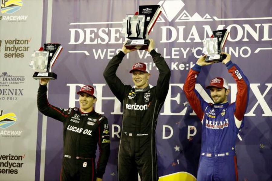 Josef Newgarden wins Phoenix Grand Prix