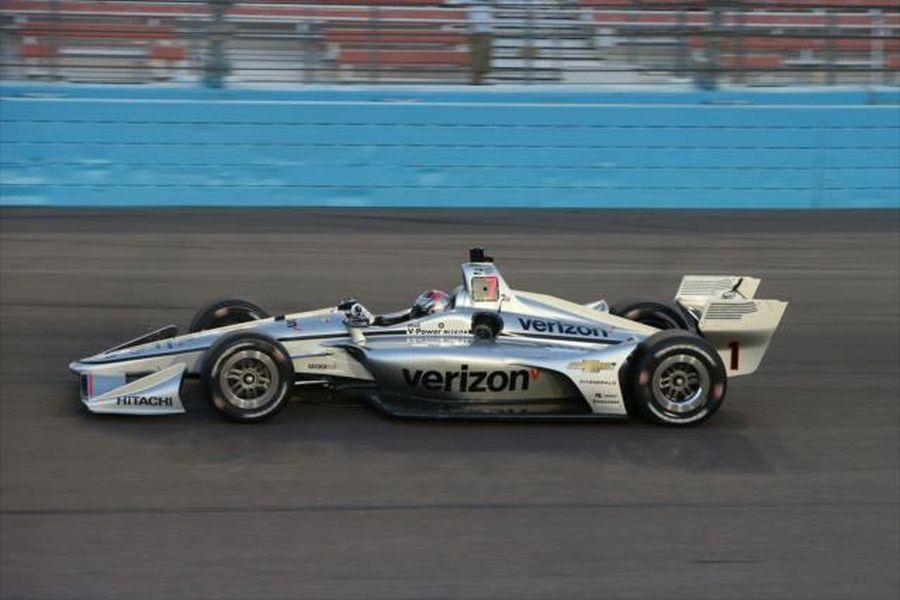 Josef Newgarden's #1 Verizon Team Penske Chevrolet
