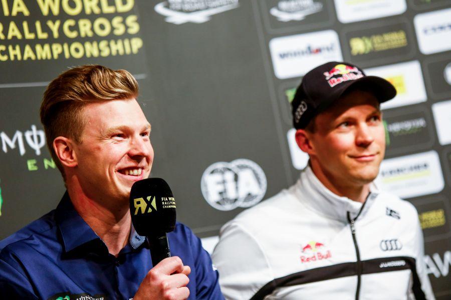 Catalunya RX, Johan Kristoffersson, Mattias Ekstrom