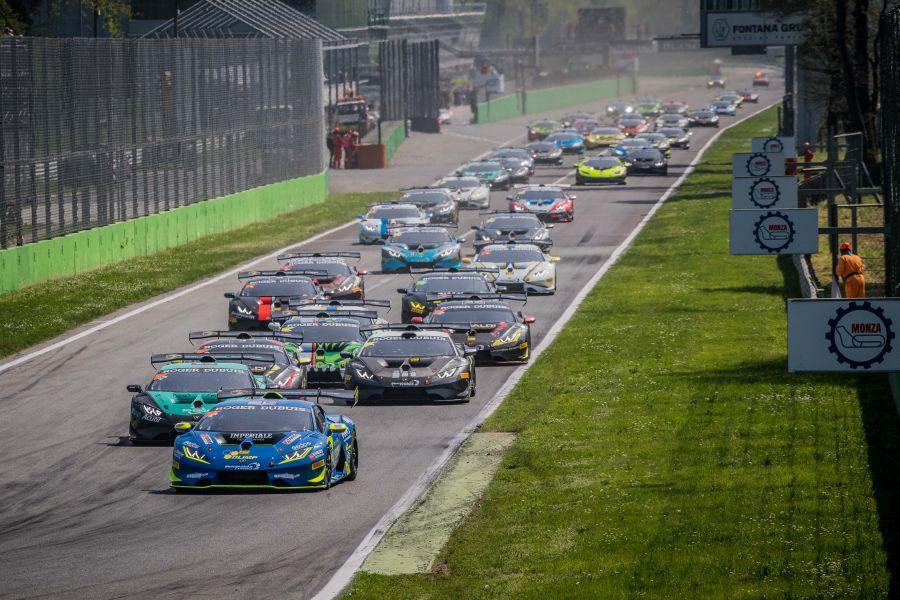 2018 Lamborghini Super Trofeo Europe, round 1, Monza