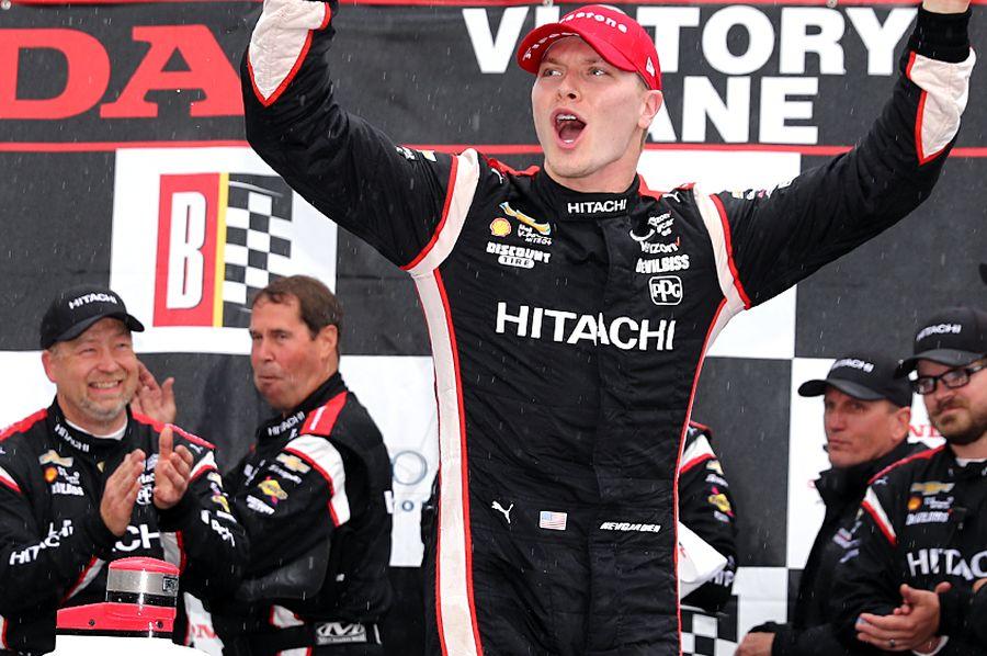 Josef Newgarden wins Honda Grand Prix of Alabama