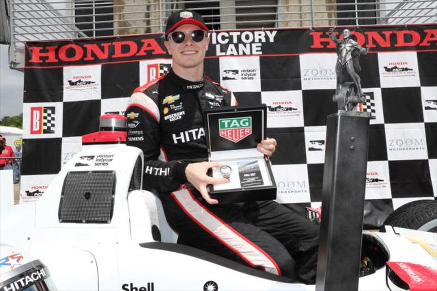 Josef Newgarden wins Grnd Prix of Alabama
