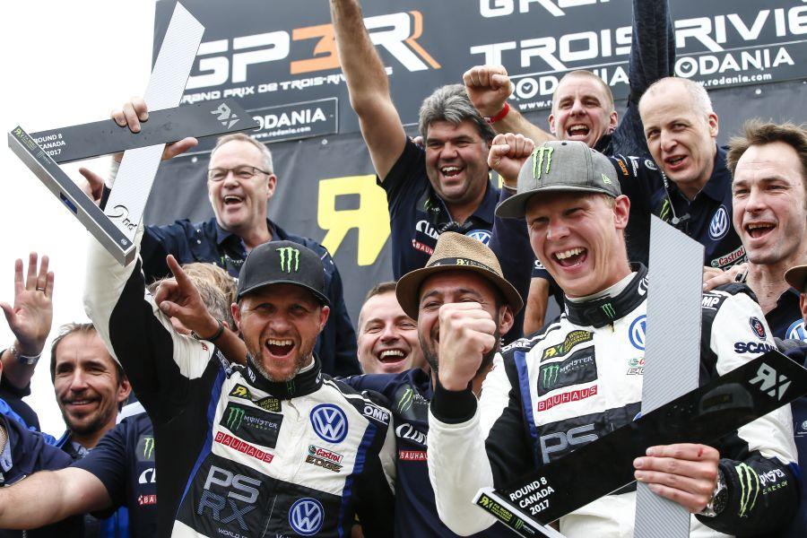 Petter Solberg, Johan Kristoffersson, PSRX Volkswagen Sweden